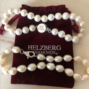 Helzberg diamonds pearl bracelet set